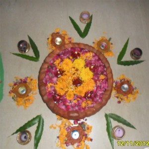 Diwali Celebration in Bluechip